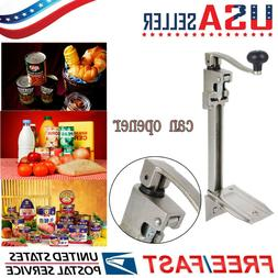 """Stainless Steel Table Mount Can Opener - Up To 11""""H Cans USA"""