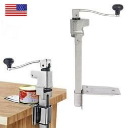 11inch Desk Table Mounted Manual Spin Tins Can Opener Restau