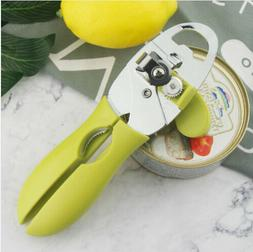 1pc Manual Can Opener Side Cutting Safety Smooth Stainless S