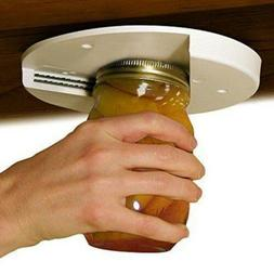 1x Single Hand Jar Can Bottle Opener Lid Cap Kitchen Tools U