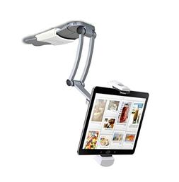 2-in-1 Kitchen Desktop Tablet/ Cookbook Stand Wall Mount iPa