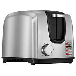 Black & Decker 2-Slice Toaster Model T2707S, Stainless Steel