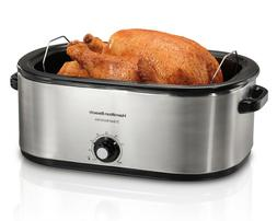 Hamilton Beach 22 Quart Roaster Oven, Fits 28 lb Turkey