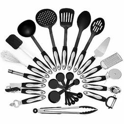 26 Piece Kitchen Utensils Set & Cooking Tools, Stainless Ste