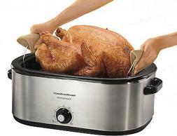 Hamilton Beach 28 lb Turkey Roaster Oven   Model 32231