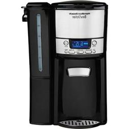 Hamilton Beach 47900 Black Brew Station 12-Cup Dispensing Pr