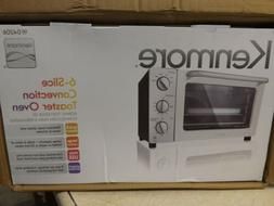 Kenmore 4806 6-Slice Convection Toaster Oven - Stainless Ste