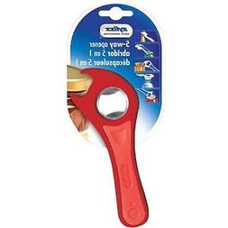 """5 Way Opener- Assorted Colors Can Openers Kitchen """" Dining"""