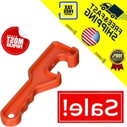 Linzer 5425 Plastic 5-Gallon Paint Can Opener, Orange