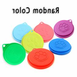 5pcs Tin Lids Dog Cat Food Can Covers Standard Sized Tins Pl