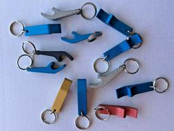 6 KEY-CHAIN BOTTLE AND CAN OPENER