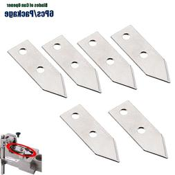 6 Pieces/Package Replacement Knife for <font><b>Commercial</