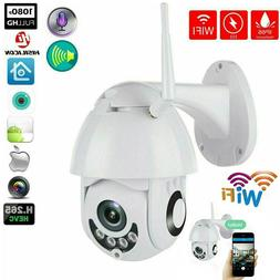 HD 1080P Wireless WiFi Dual Light IP Camera Outdoor CCTV Sma