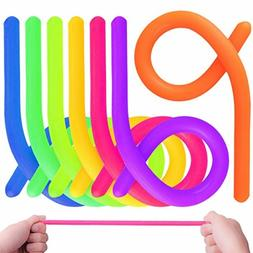 KeNeer 7Pack Stretchy String Fidget Sensory Toys - Relieve S