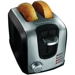 BLACK+DECKER T2707SB 2-Slice Toaster, Bagel Toaster, Black