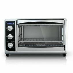 BLACK+DECKER TO1675B 6-Slice Convection Countertop Toaster O