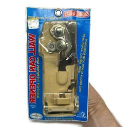 Swing A-Way WALL MOUNT Can Opener Magnetic Lid Lifter Steel