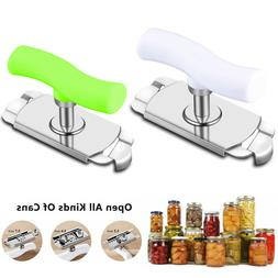 adjustable can opener stainless steel twist off