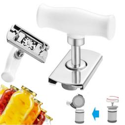 Adjustable Jar Can Opener Lid Bottle Remover Tool Stainless