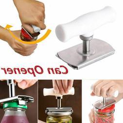 Adjustable Stainless Can Jar Tin Bottle Opener Food Kitchen