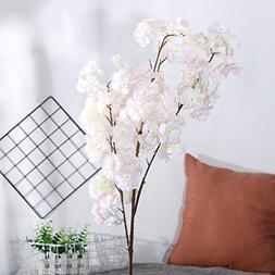 AMSKY Artificial Flowers Bulk,Artificial Silk Fake Flowers P