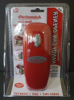 As Seen On T.V. Red Automatic Can Opener - Factory Sealed