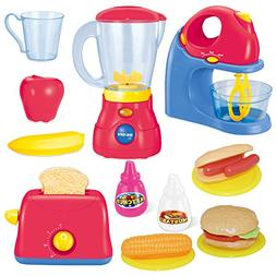 Joyin Toy Assorted Kitchen Appliance Toys with Mixer, Blende