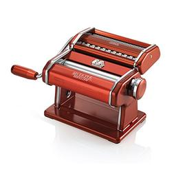 Marcato 8334 Atlas Machine, Made in Italy, Red, Includes Pas