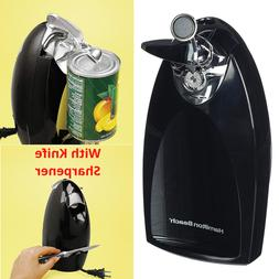 Automatic Electric Can Opener Smooth Edge & knife Sharpener