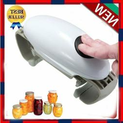 Automatic Electric Jar Tin Opener Hands Free Operation Kitch