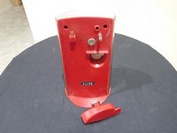 Bella Extra Tall Red Can Opener Electric Bottle Opener Knife