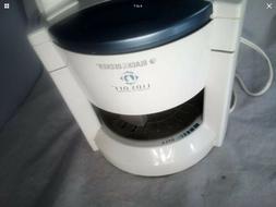 Black & Decker Lids Off Electric Jar Opener White blue JW200