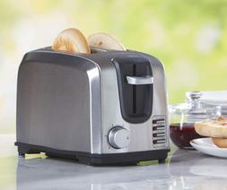 Black & Decker T2707S 2-Slice Stainless-Steel Toaster Silver