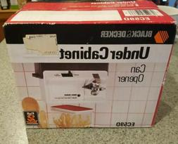 Black & Decker Under Cabinet Can Opener EC59D Brand New  Spa