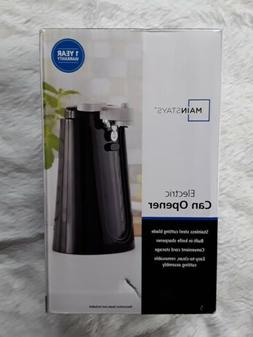 Mainstays Black Electric Can Opener