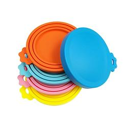 SACRONS Can Covers/5 Pack/Universal Silicone Can Lids for Pe