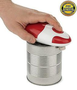 Can Opener Automatic Electric Red Edge Soft Smooth Bartelli
