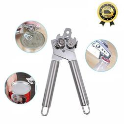 Can Opener is by Food Safety Stainless Steel 3 in 1 Manual T