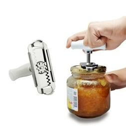 Adjustable Can Opener Jar Bottle Manual Stainless Steel Easy