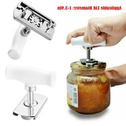 Can Opener Jar Bottle Manual Stainless Steel Lid Remover Adj