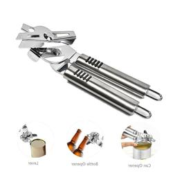 Can Opener Manual - Smooth Edge Heavy Duty 3in1 Stainless St