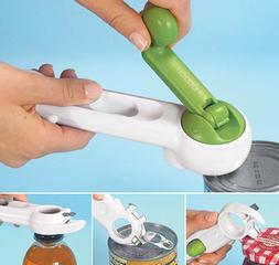 Can Opener Multi Function Kitchen Tool Jar Pop Tin Lifter 6