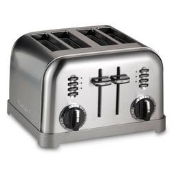 Cuisinart CPT-180BKS Metal Classic Toaster 4-Slice Black Sta