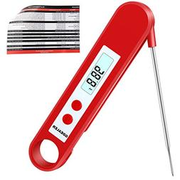 GDEALER DT2 Digital Instant Read Meat Thermometer with Foldi