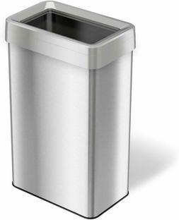 iTouchless 21 Gallon Dual-Deodorizer Top Trash Rectangular S