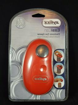 Zyliss EasiCan Electric Can Opener. Red, New in Package.