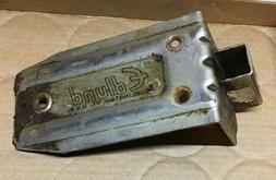 Edlund #2 Manual Can Opener Mounting Base vintage steel plat