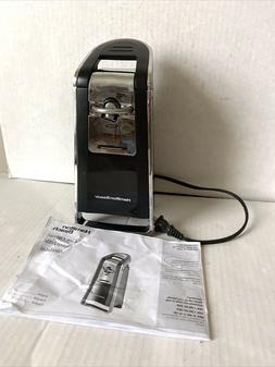 Hamilton Beach Electric Can Opener 76606Z Instruction Manual