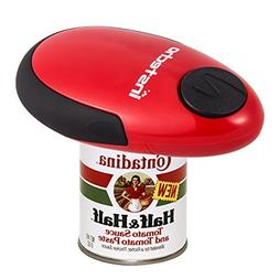 Electric Can Opener, Batteries Operated Smooth Soft Edge wit