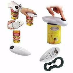 Electric Can Opener One Touch No Hand Automatic Bottle Jar T